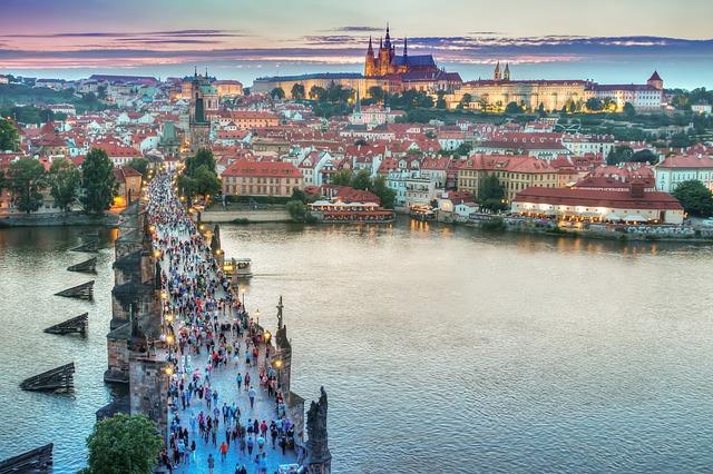 Сити-тур по Праге - первое знакомство